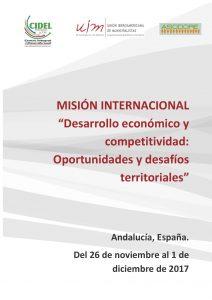 Banner Mision Desarrollo Economico CIDEL-ASODORE-UIM Adalucia